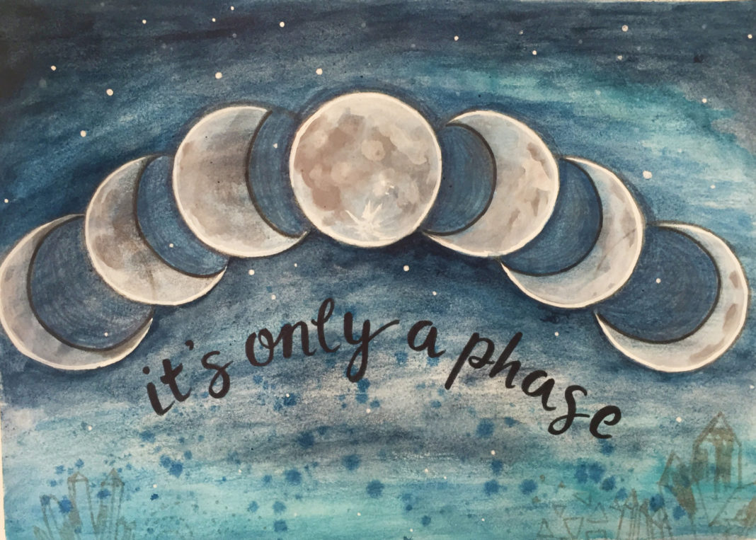 What The Moon Phase You Were Born During Says About Conscious Diagram 3 Lunar Phases Reminder